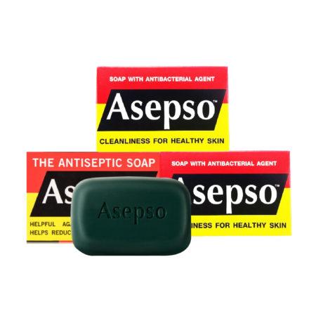 Asepso Soap Original 80g 3s