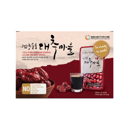 DODUM JUJUBE (RED DATE) JUICE 5X100ML