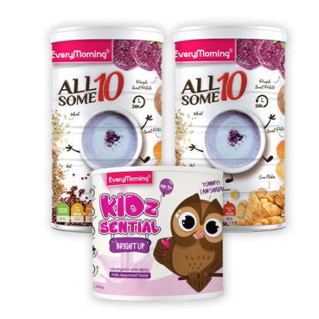 EveryMorning Breakfast 2 (Allsome10 + KidzSential Bright Up)