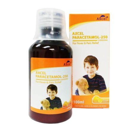 Axcel Paracetamol 250mg/5ml Syrup (orange) 100ml
