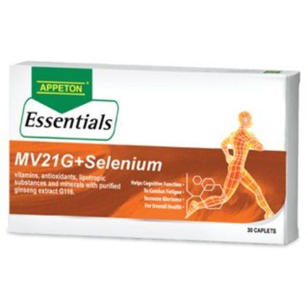 Appeton Ess. Mv21g+selenium 30s