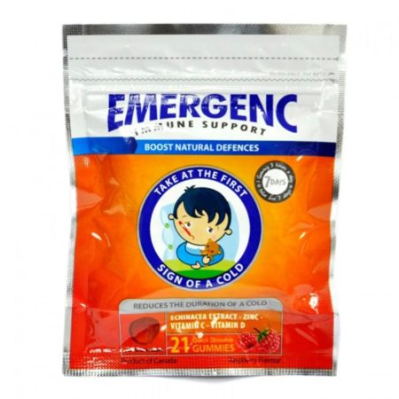 GUMMY RASPBERRY EMERGENC 21S