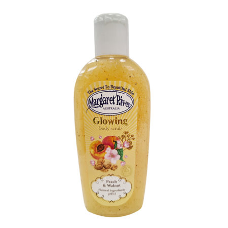 MARGARET RIVER GLOWING BODY SCRUB PEACH & WALNUT 100ML