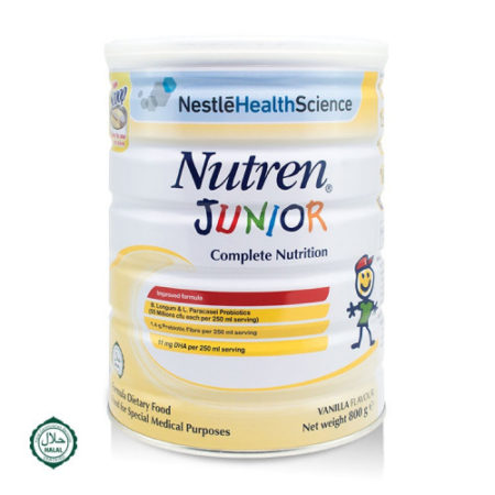 Nestle Nutren Junior 2x800g Save Rm6