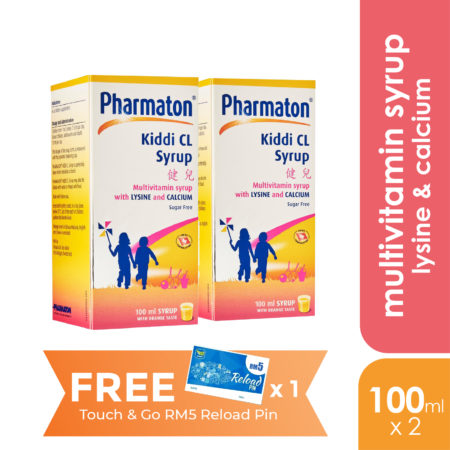 Pharmaton Kiddi Cl Syrup 2x100ml