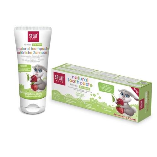 Splat Kids 2-6 Yrs Toothpaste (Cherrywild Strawberry) 50ml