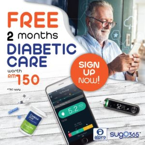 Sugo 365 Diabetic Care Lucky Draw 2020