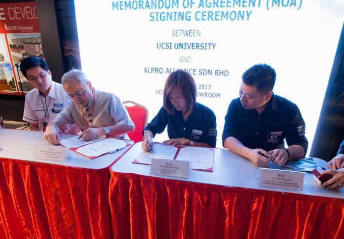 The Signing of MOA with UCSI University