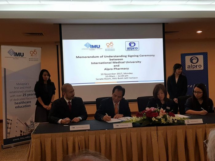 The Signing of MOU Ceremony with IMU