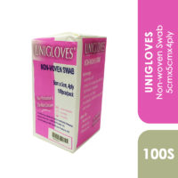 Unigloves Non-woven Swab 5cmx5cmx4ply 100s