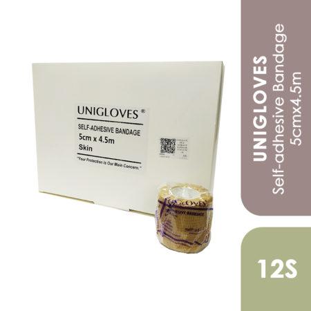Unigloves Self-adhesive Bandage 5cmx4.5m 12s