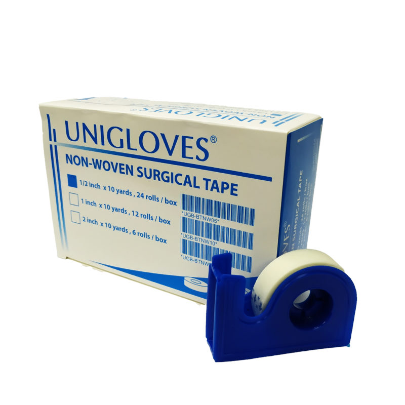 Unigloves Surgical Tape (non Woven) 1/2 Inx10yds 24s