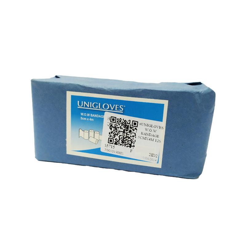 Unigloves W.o.w Bandage 5cmx4m 12s