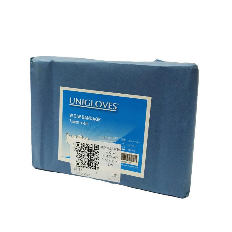 Unigloves W.o.w Bandage 7.5cmx4m 12s