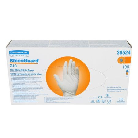 Kleenguard G10 Flex Nitrile Gloves Size S 100s