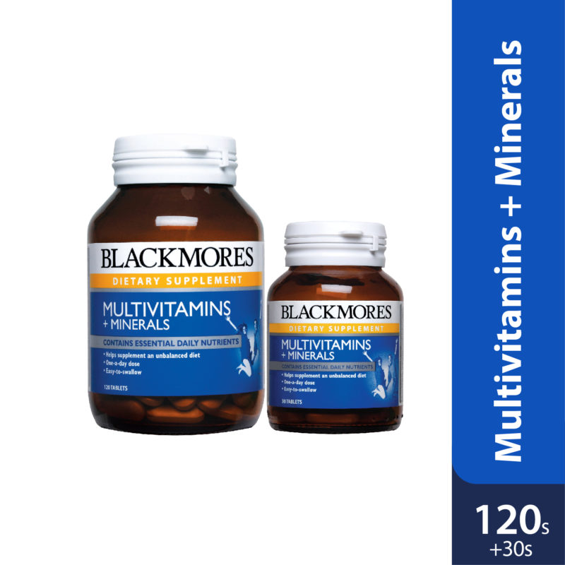 Blackmores Multivit+mineral 120s With 30s