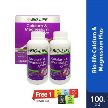 Bio-life Calcium Magnesium Plus 2x100s