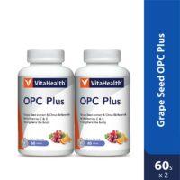 Vitahealth Grape Seed OPC Plus 2x60s