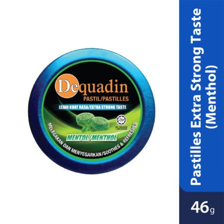 Dequadin Pastilles Extra Strong Taste Menthol 46g