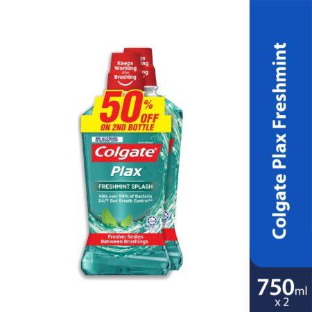 Colgate Plax Freshmint 750ml 2s