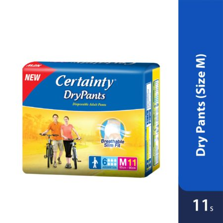 Certainty Drypants - Regular Pack (M) 11s