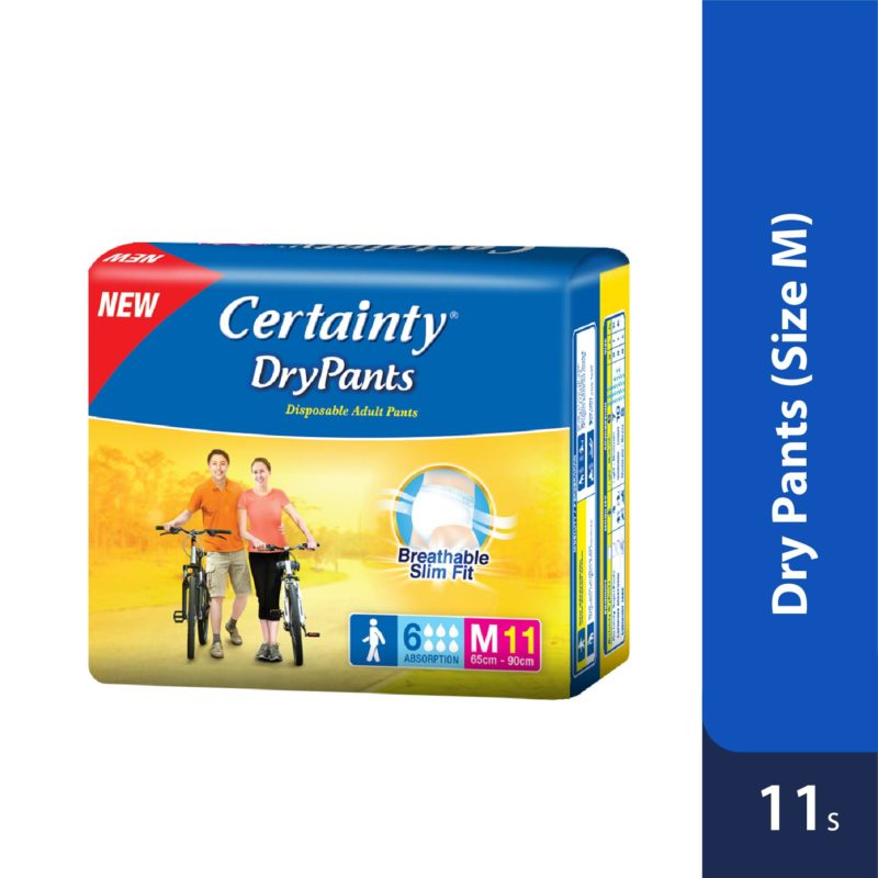 Certainty Drypants - Regular Pack (M) 11s