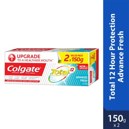 Colgate Total 12 Hour Protection Advance Fresh 150g 2s