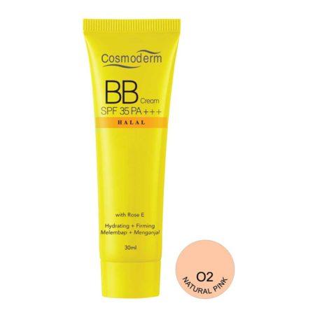Cosmoderm BB Cream Vitamin E Natural Pink 02 30ml