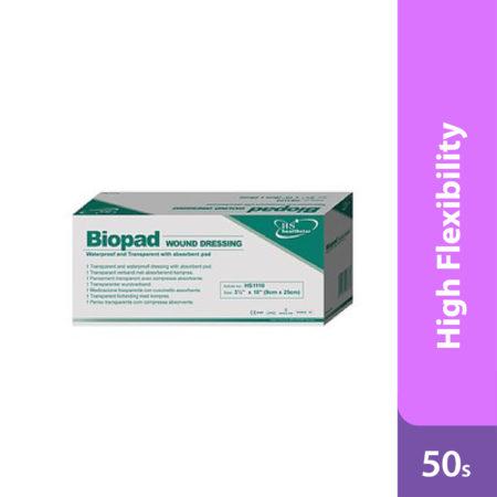 Biopad Wound Dressing 9cmx20cm 50s