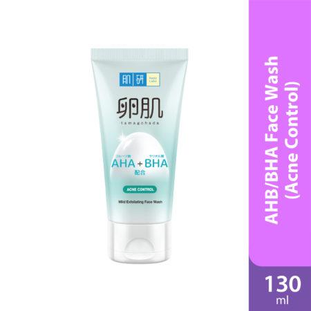 Hada Labo Aha/bha Face Wash (acne / Oil Control) 130g