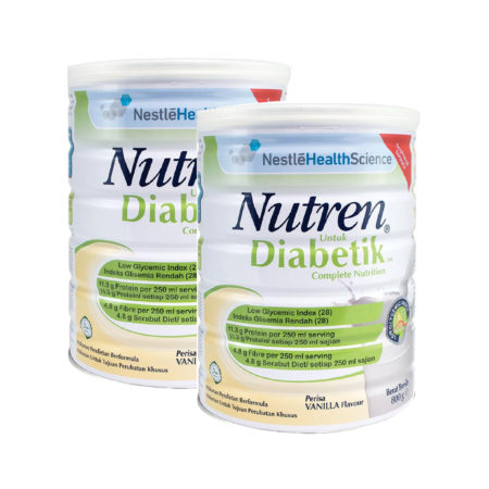 Nestle Nutren Diabetik 2x800g Save RM8 | Diabetes Formula