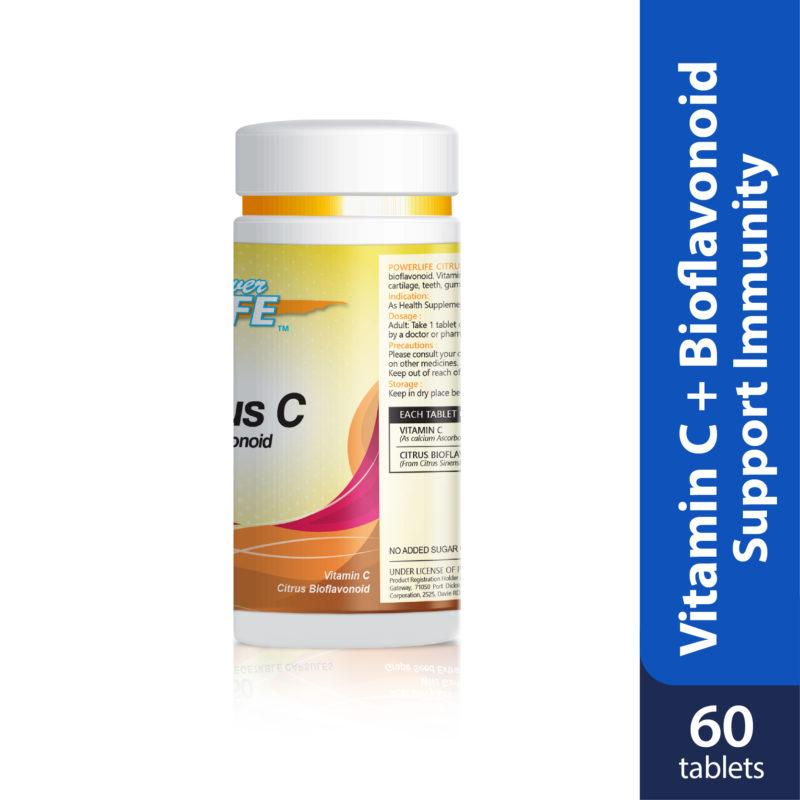 Powerlife Citrus Bioflavonoid C 60s