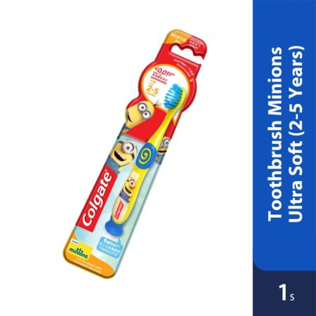 Colgate Toothbrush Minions Ultra Soft 2-5 Years 1s