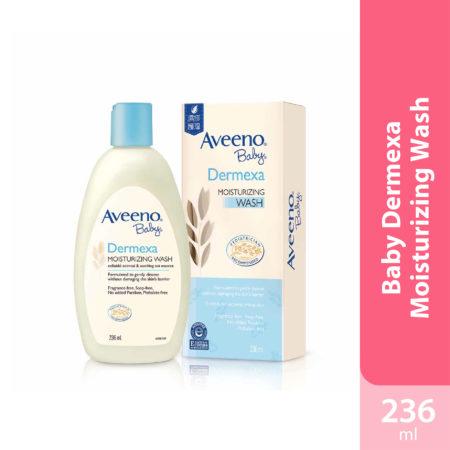 Aveeno Baby Dermexa Moisturizing Wash 236ml