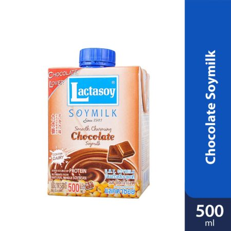 Lactasoy Soy Milk Chocolate 500ml