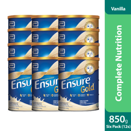 Promo Package 6 Sets - Abbott Ensure Gold Vanilla 2x850g