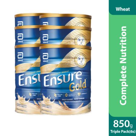 Triple Pack Abbott Ensure Gold Wheat 2x850g
