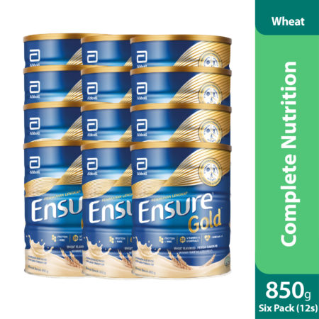 Promo Package 6 Sets - Abbot Ensure Gold Wheat 2x850g