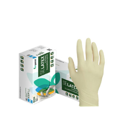 Bergamot Se Latex Gloves (powder Free) M 100s