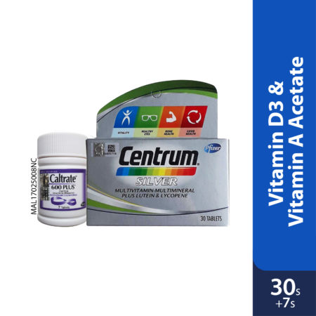 Centrum Silver 30s Foc Caltrate Plus 7s