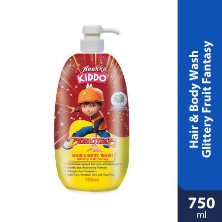 Anakku Kiddo Hair&body Wash Glittery Fruit Fantasy 750ml