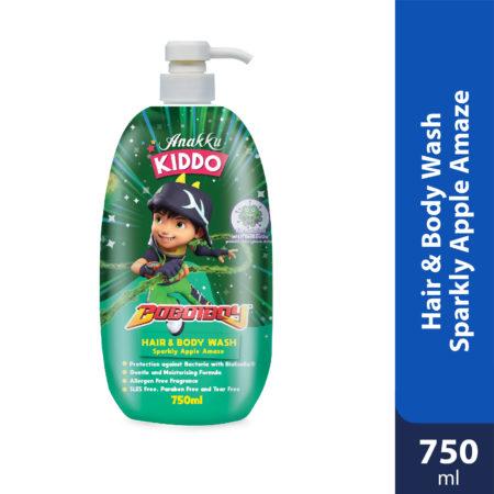Anakku Kiddo Hair&body Wash Sparkly Apple Amaze 750ml