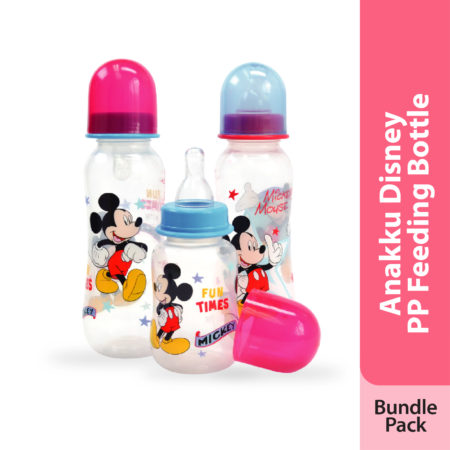 Anakku Disney PP Feeding Bottle (Bundle Pack)