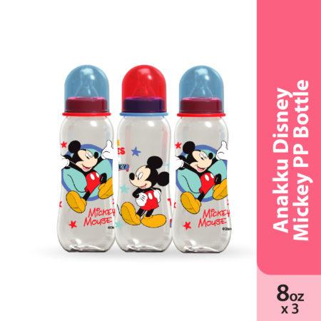Anakku Disney Mickey PP Bottle 3x8oz