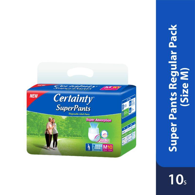 Certainty Superpants - Regular Pack (M) 10s