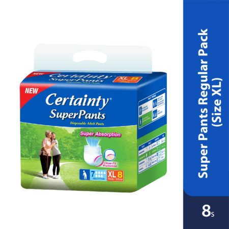 Certainty Superpants - Regular Pack (XL) 8s