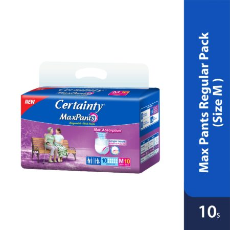 Certainty Maxpants - Regular Pack (M) 10s