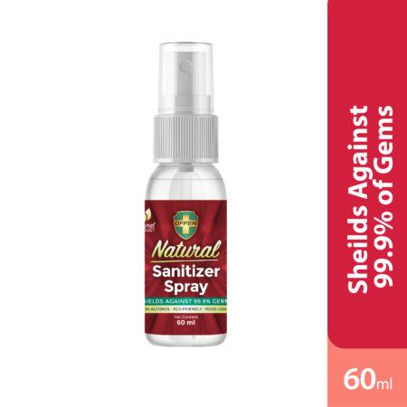 Offen Natural Sanitizer Spray 60ml