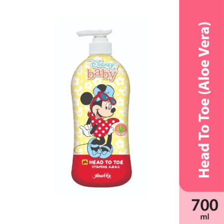 Anakku Disney Minnie Head To Toe Aloe Vera 700ml