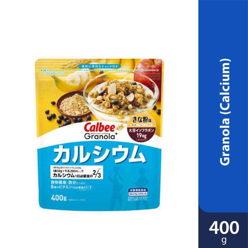 Calbee Granola+ Calcium (Blue) 400g